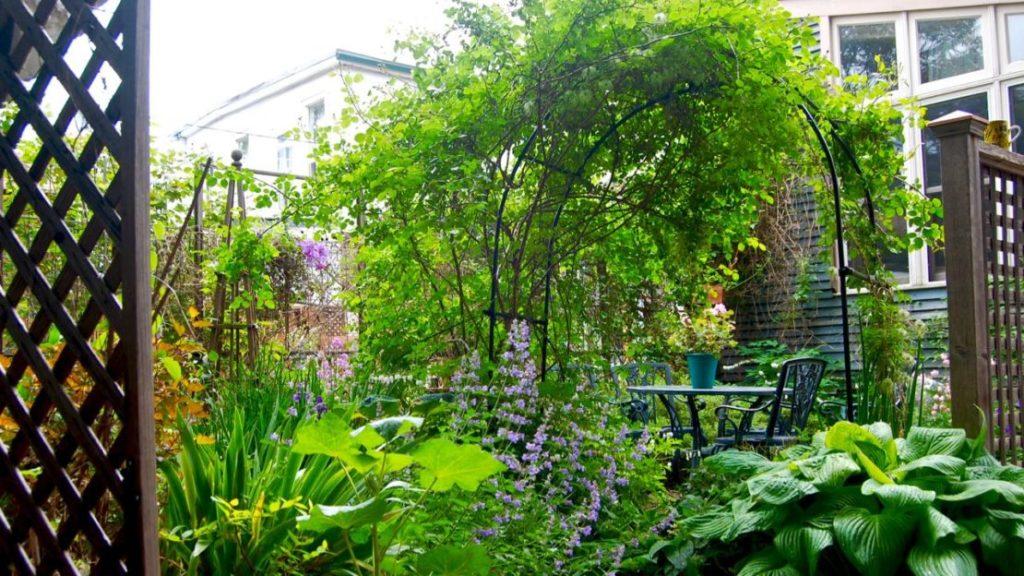Small Gardens Pictures tricks for small gardens – toronto gardens