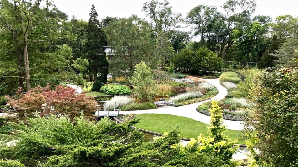 RBGs Rock Garden rocks in October Toronto Gardens