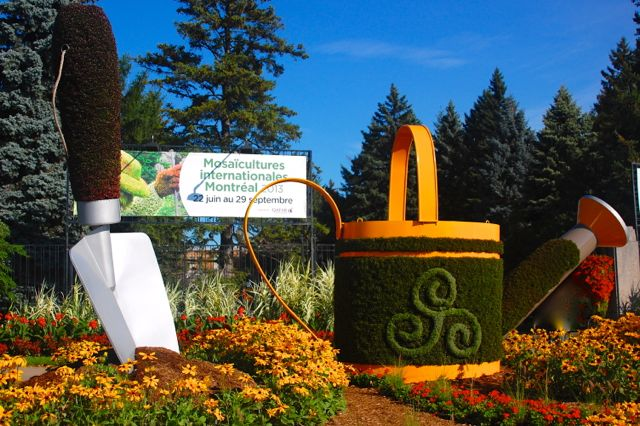 Mosaicultures At Montreal Botanical Garden