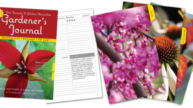 Toronto and Golden Horseshoe Gardener's Journal 2021 thumbnails